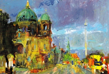 "Postkarte ""Berlin Cathedral"""